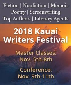 2018 Kauai Writers Conference