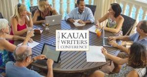 Group workshop at the Kauai Writers Conference, Kauai Marriott Resort