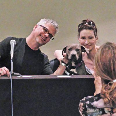 Garth Stein and Sara Gruen - discussion on writing about animals