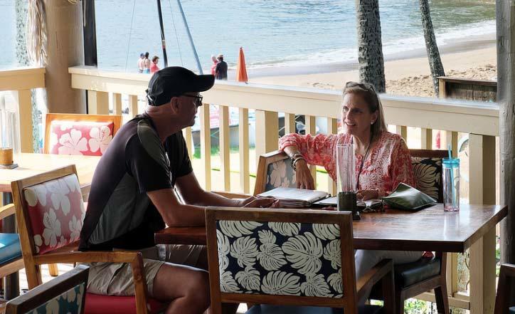 Finding an agent on Kauai
