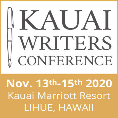 Register for the 2020 Kauai Writers Conference