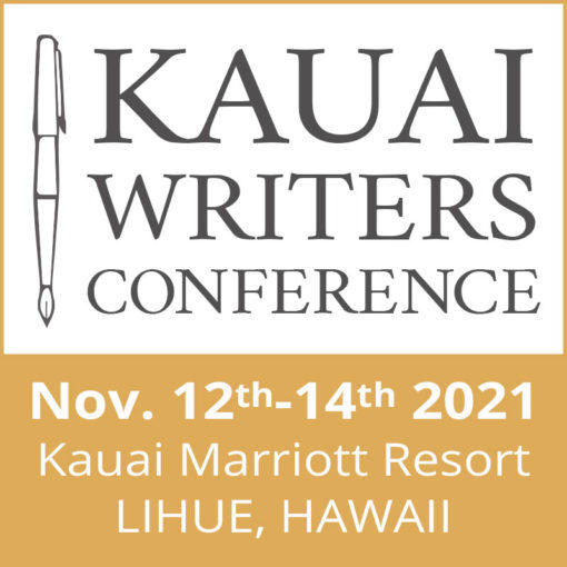 Register for the 2021 Kauai Writers Conference